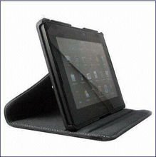 360 Degree Rotating Leather Case for BlackBerry Playbook