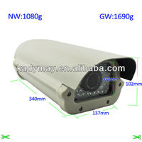 Super wide dynamic White light 40m Outdoor Waterproof ccd traffic speed cameras, for Vehicel License Plate Capture