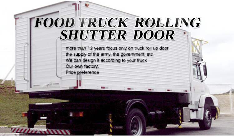 plastic/aluminum automatic vehicle trailer roll up door in china