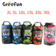 Amazon Top Seller 10L Camouflage Color Ocean Pack Waterproof Bag , High Quality IPX Level 20L PVC Lining Dry Bag