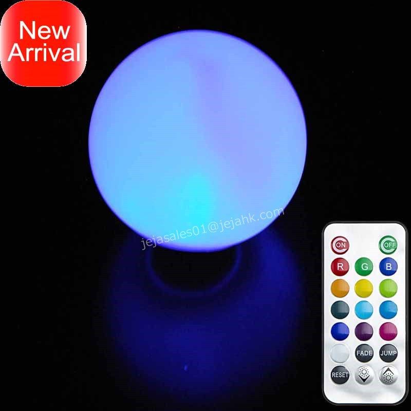Kids Products Rainbow Orb Led Light 3inch Small Floating Bathtub Light