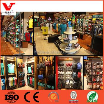 Shop Fitting Shirt Retail Display Rack Bag Shop Fixtures Shoe Store Furniture Buy Retail Shop