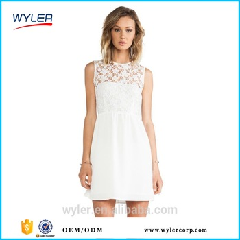 china garment industry lace dress manufacturer