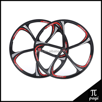 f83aa2b90cc mountain bicycle wheelset Alloy MTB Rims wheel mountain bike 26 inch  Magnesium alloy wheel
