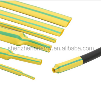 Ul Dual Color Green Yellow Heat Shrink Tube For Ground Wire - Buy ...