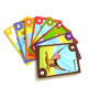Adult & Children flash card/playing card custom printing