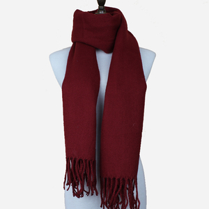 Fashion Soft Women Neck Red Acrylic Scarf