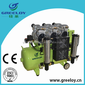 ISO approved 2hp oil air compressor for car care industry