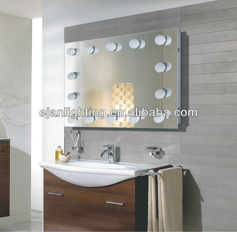 Cheap Popular Hollywood Vanity Mirror With Lights Bulbs