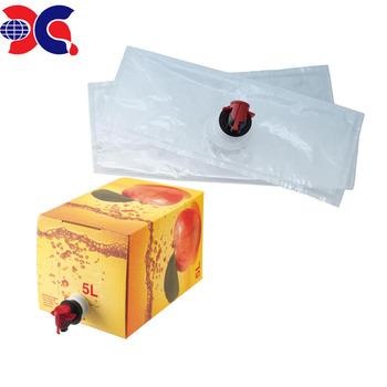 Bag In Box Packaging Use 20 Liter Plastic Liquid Bladder