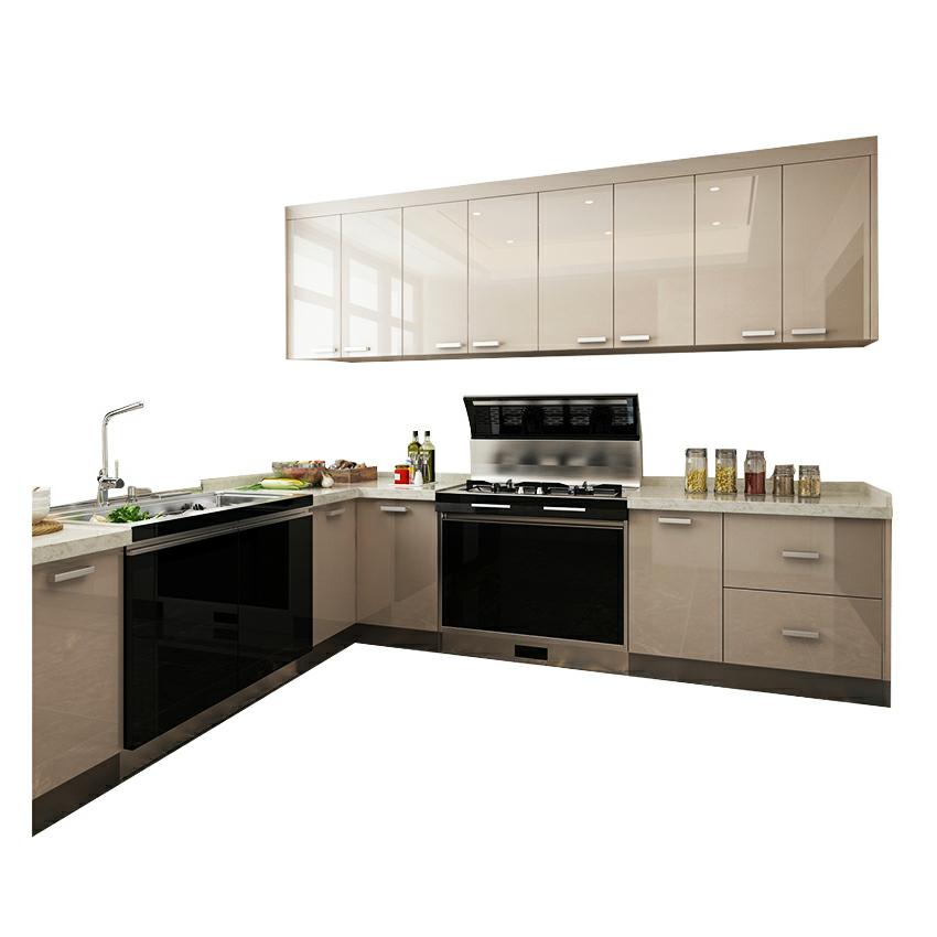 Stainless Steel Kitchen Sink Cabinet Acrylic Kitchen ...