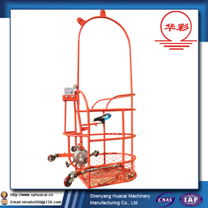 ZLJP200 mini portable scaffolding platform construction cradle machine for window cleaning