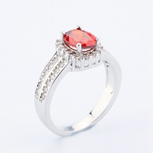 Created Ruby Enternity Anniversary Rings jewelry wholesale china