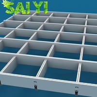 Aluminum types of ceiling materials drop ceiling grid