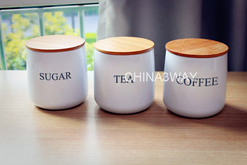 Fresh Lfgb Metal Tea Coffee Sugar Canisters - Buy Canisters,Tea Coffee  NV34