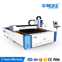 hot sale gweike 200w 300W metal cutting fiber laser machine price low