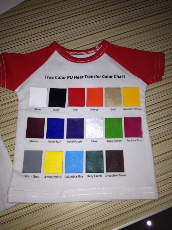 2016 Hot Sale Wholesale Printable Heat Transfer T Shirt