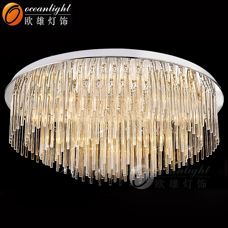 K9 Gl Crystal Chandelier Parts Modern For High Ceilings Om88443 400