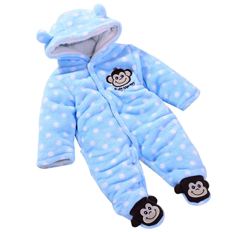 3143488e4fd5 Buy Baby  39 s Jumpsuit - SODIAL(R) Baby  39 s Toddler Velour Winter ...