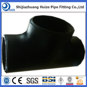 Butt-welding Pipe Fittings equal tee formula ASTM A234 WPB