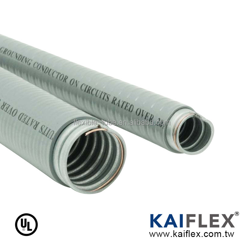 pvc coated water proof electrical flexible metal conduit