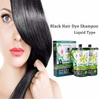 Natural Black Shampoo Cover Grey Hair Dyes Best New Design Dye Color