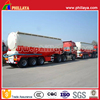 Transport powder and flour tanker car 3 axle tanker truck 30 - 70 ton bulk cement trailer for sale