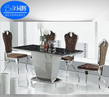 Muebles De Comedor Moderno Diseño Bases Para Mesas De Granito (ct ...