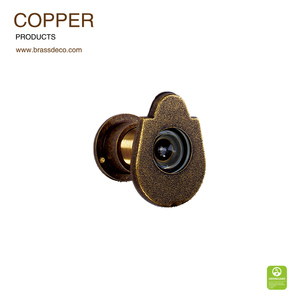 2016 NEW design China supplier copper door viewer CE03 OB with antique color