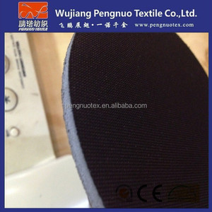 600d*300d polyester oxford eva coated/foaming leather luggage fabric and materials with 5mm thickness abhesive fabric