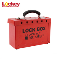 65699 Portable Steel loto brady safety lock Group Lockout Box
