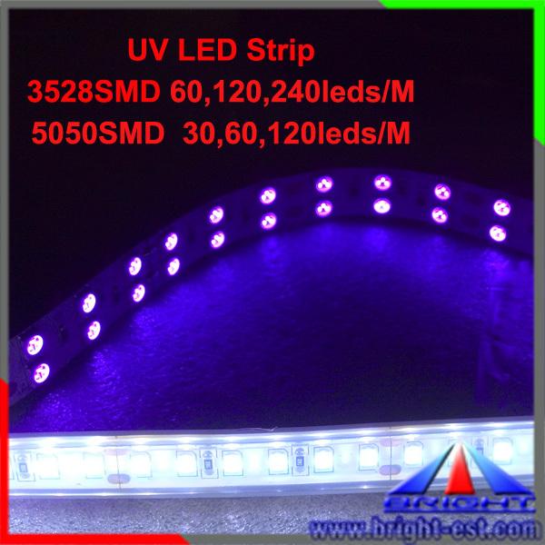 Waterproof Uv Led Strip Light,12 Volt Uv Led Strip,5050 Uv 365nm ...