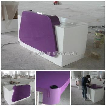 Small Reception Counter,Salon Front Desk,Beauty Salon Reception ...