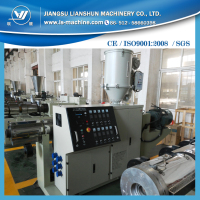 Single screw plastic melting extruder machinery