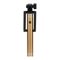 2016 Aluminum Alloy Folding Wired Sefie Stick Extendable Handheld Monopod Self Stick For Iphone 6 plus