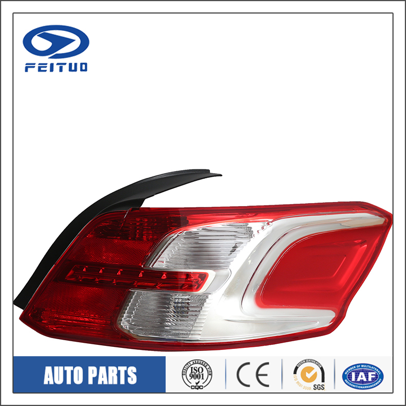 Car styling rear lamp red famous for PEUGEOT 301