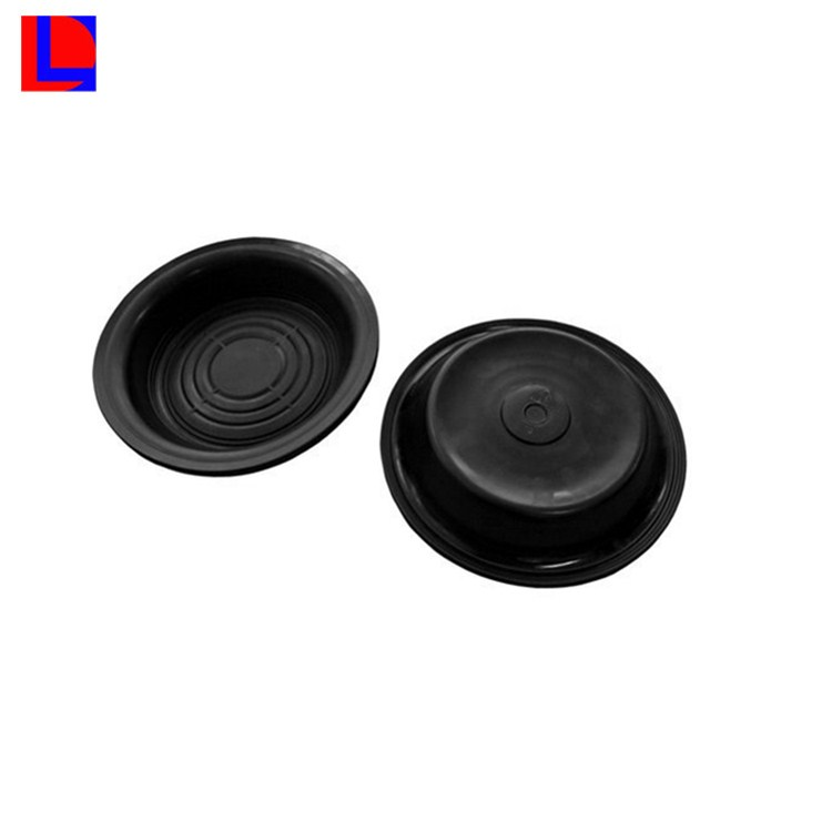 Customized size best price black color EPDM rubber diaphragm for pump