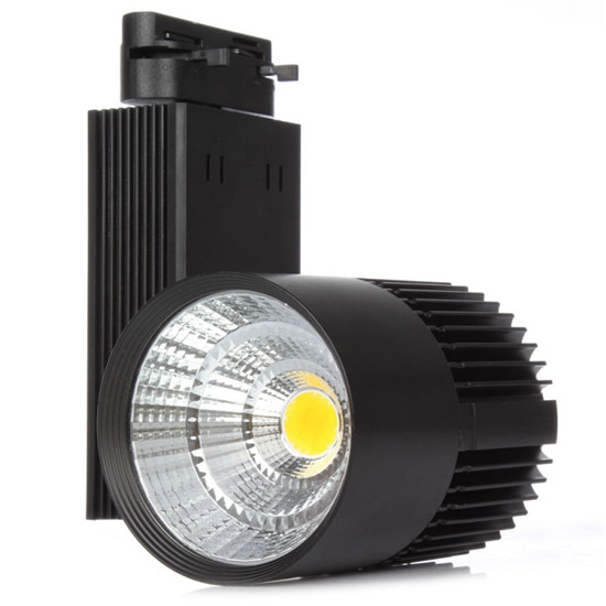 2018 New super bright 3 wires Rail System High Lumen COB LED Track Light 30W for projects