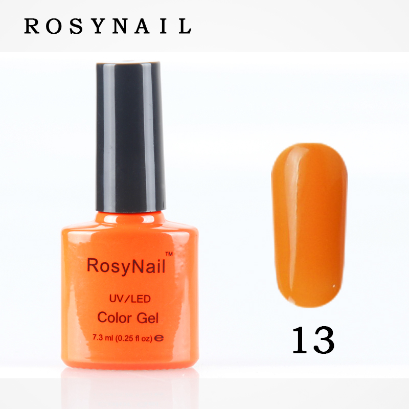 Nail Supplier Create Your Own Brand Private Label OEM Soak Off 7.3ML Color Nail Make Up UV Gel