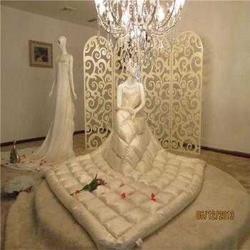 silk fabric down comforter