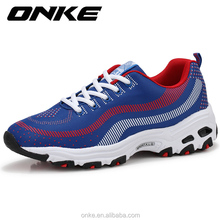 Good quality Rubber Mesh sport shoes men cushion running female sneakers Outdoor Athletic Shoes