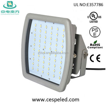 150W LED Parking Garage / Gas station led Canopy Light certified by UL DLC atex ce