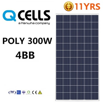 q cell solar power panel 300w 320w 4bb high efficiency solar module 1kw solar panel price a. Black Bedroom Furniture Sets. Home Design Ideas