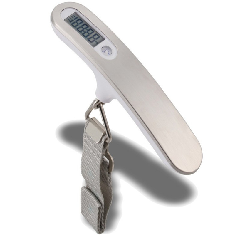 Promo portable ABS metal digital hanging luggage scale