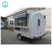 Factory Supply 2.8m fast food trailer bakery food cart trailer for sale