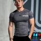 Custom Printing Logo Light Weight Cool Dry-fit Polyester T-shirt Men Sport Gym Tshirt Tee Shirt