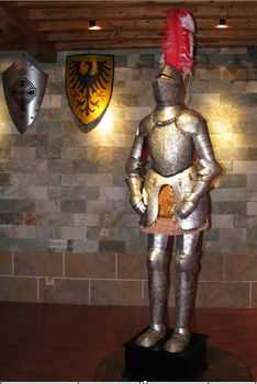 Metal Boyama şövalye Zırhırenkli Asker Figürleriboyalı Savaşçı