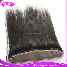 Silky straight 13*2 lace front wigs lace ear to ear,natural black can be dyed