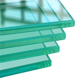 8mm toughened glass cut to size for balcony shatterproof glass panel price