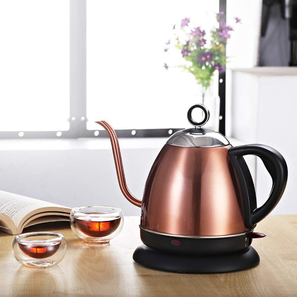 ZHANGM Stainless Steel Tea Kettle, Electric Kettle, Tea Kettle, Hot Water Kettle, Fast Boiling Water Boiler with Detachable Base,304 Stainless Steel